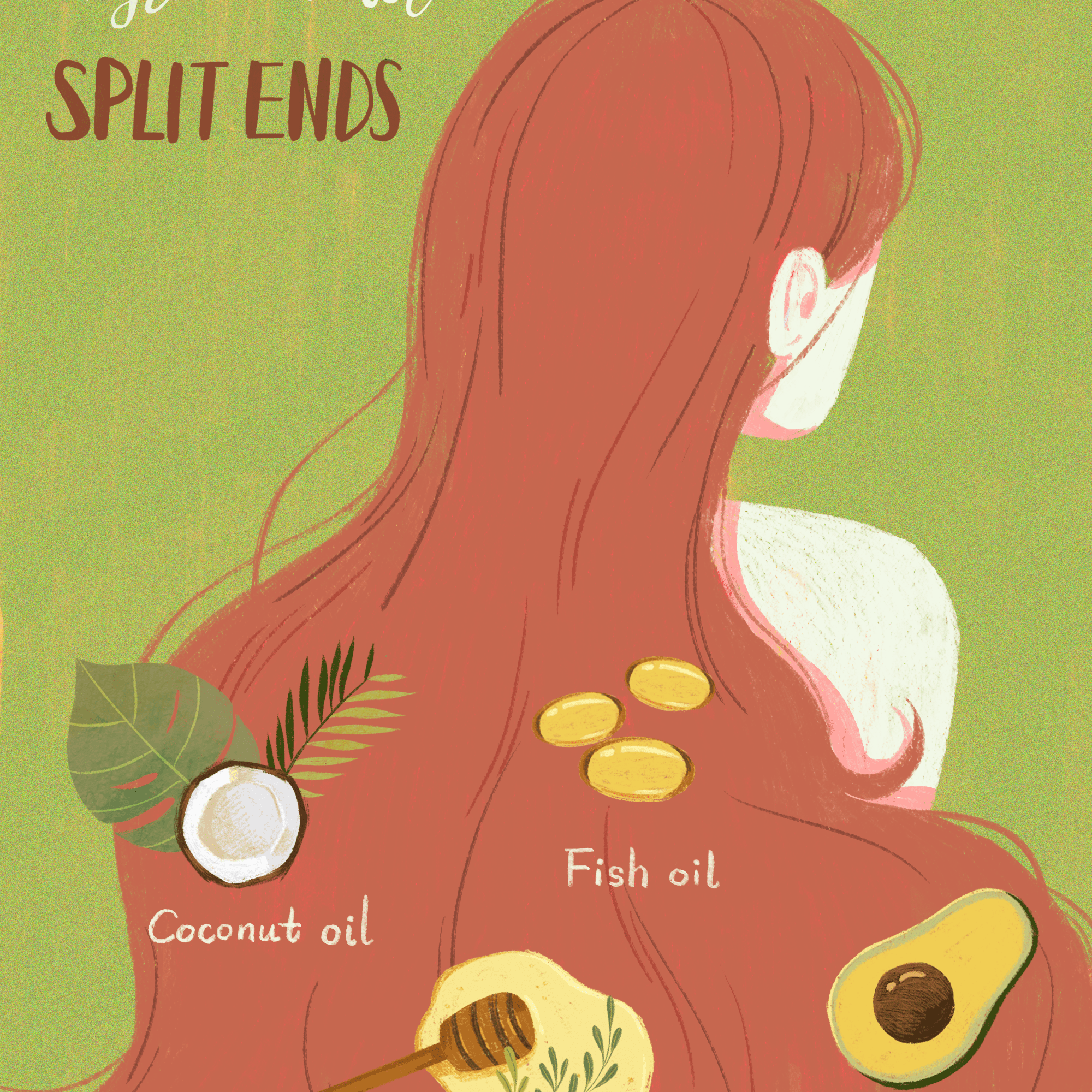 How To Get Rid Of Split Ends Diy Remedies