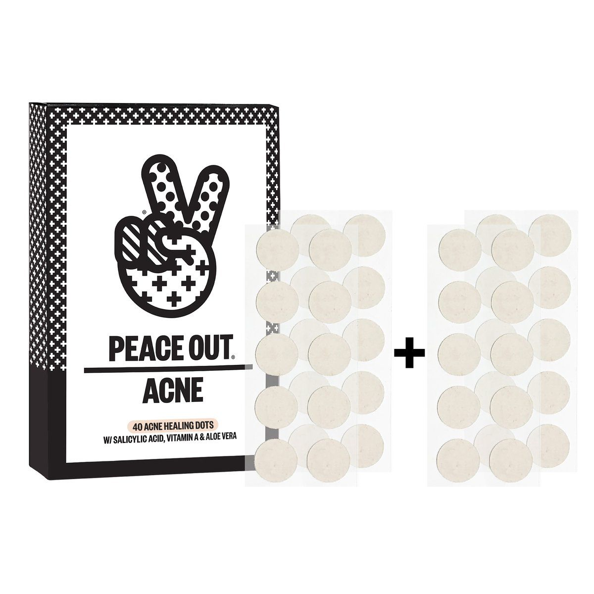 peace out dots