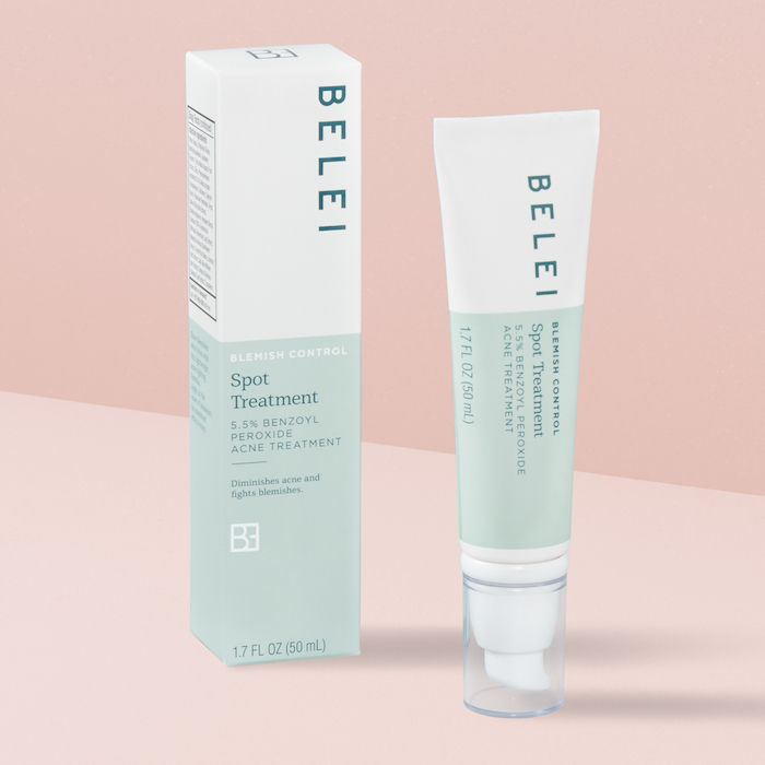 Belei Blemish Control Spot Treatment, 5.5% Benzoyl Peroxide Acne Treatment