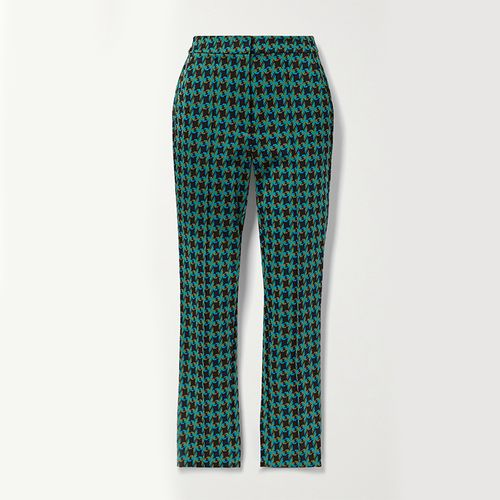 Carsen Jacquard Skinny Pants ($370)