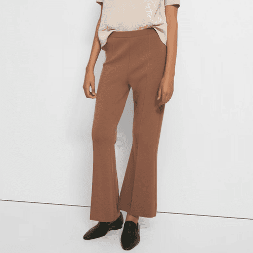 Theory Empire Wool Flare Pant