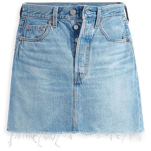Levi's Ribcage High Waist Denim Miniskirt