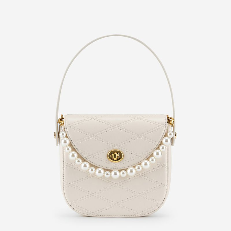 Kate Faux Pearl Bag