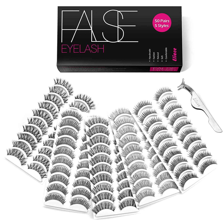 Eliace False Eyelashes Set