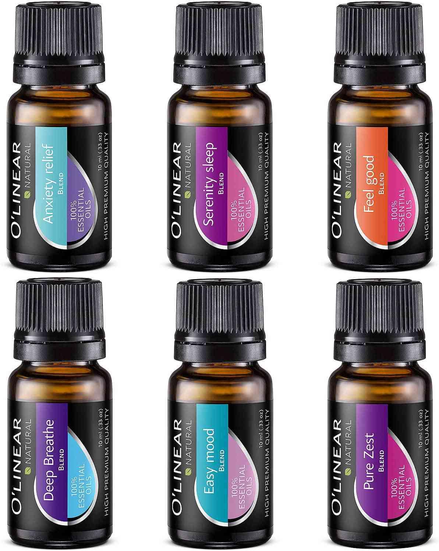 O'linear Blends Essential Oils Set