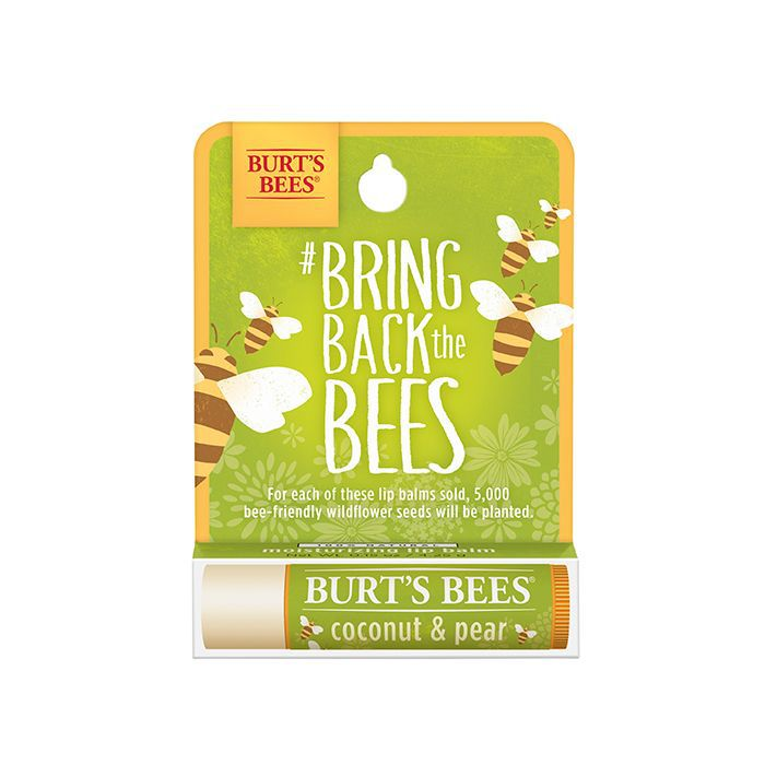 Burt's Bees Coconut & Pear Limited Edition Bring Back the Bees Lip Balm