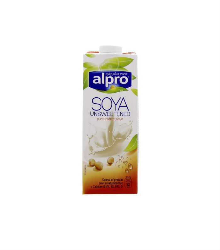 Best milk alternatives: Alpro Soya Unsweetened