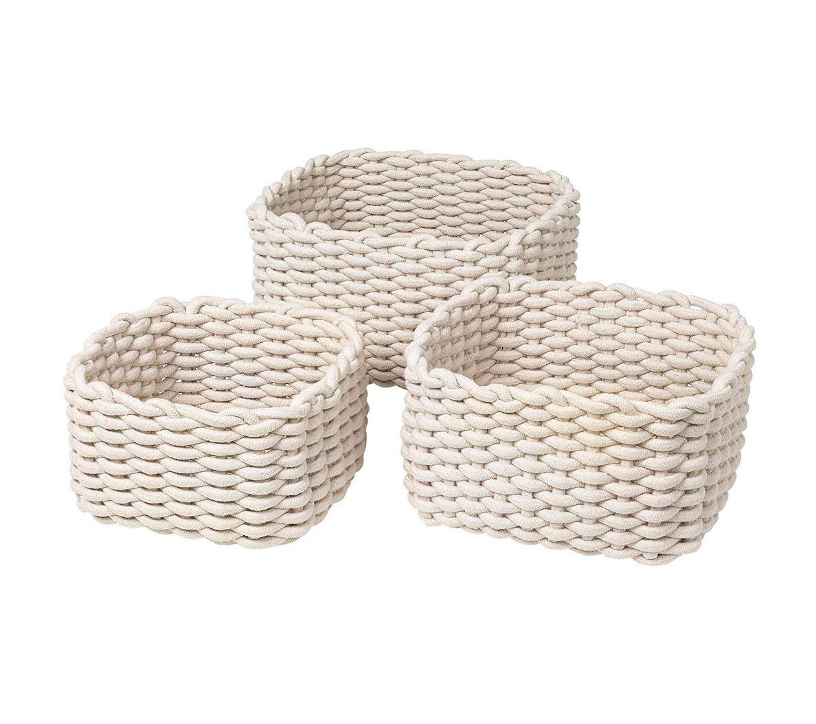 Blomus cotton baskets