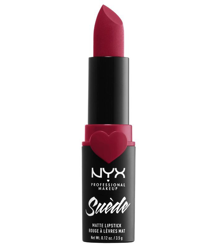 Nyx Suede Matte Lipstick in Spicy