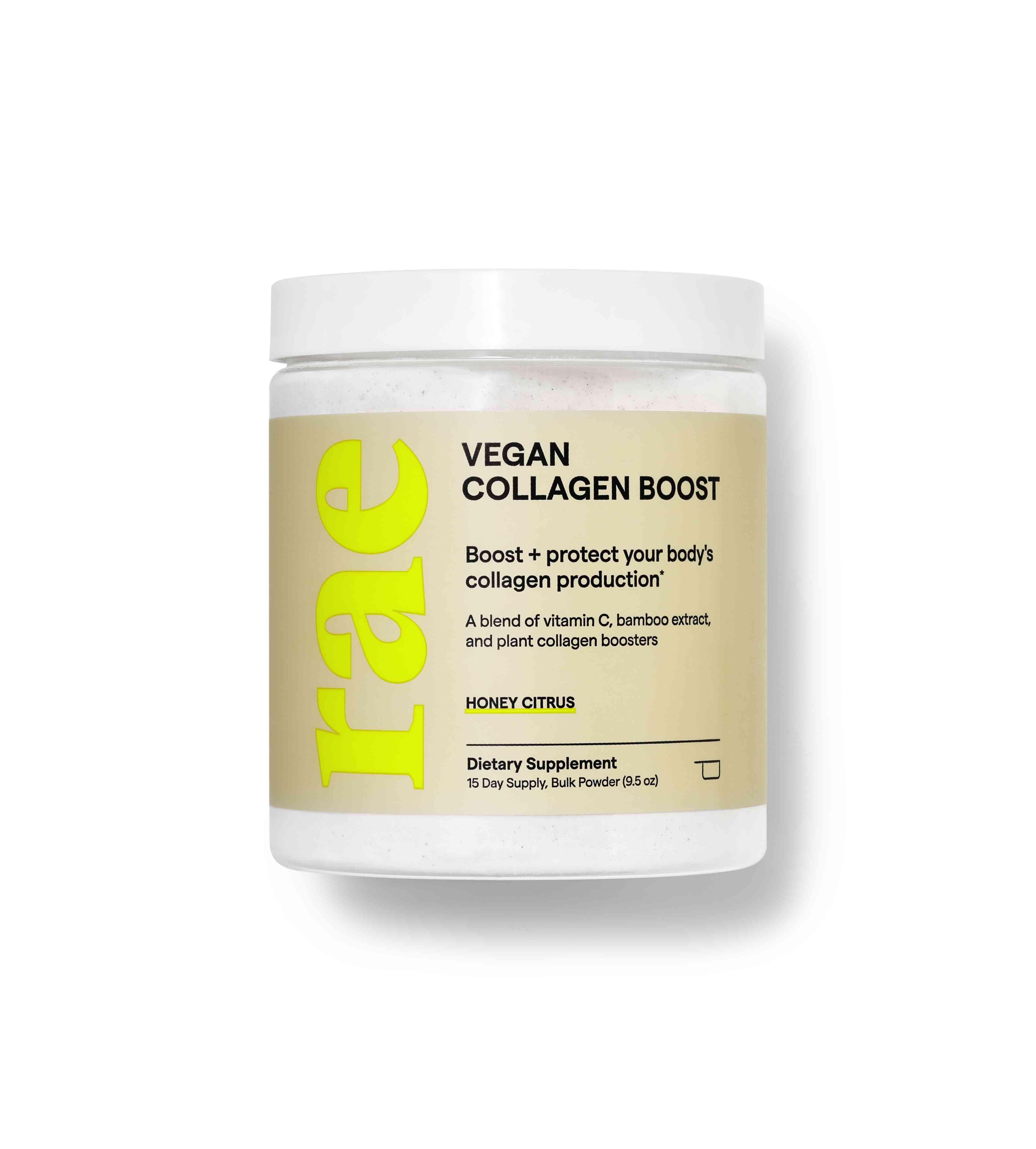 Vegan Collagen Boost Powder - Honey Citrus