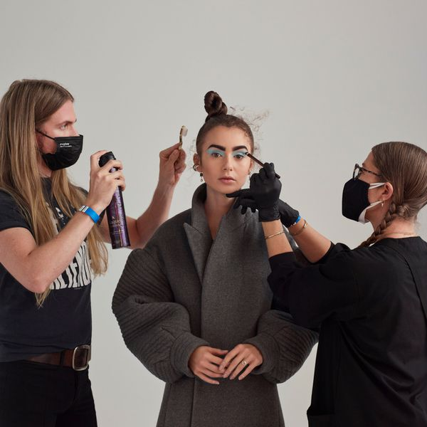lily collins glam team
