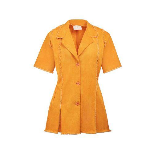 Paneled Short-Sleeve Overshirt ($299)