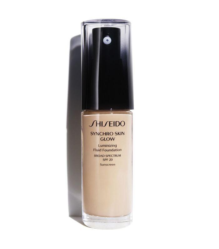 best foundations: Shiseido Synchro Skin Glow Luminizing Fluid Foundation Broad Spectrum SPF 20