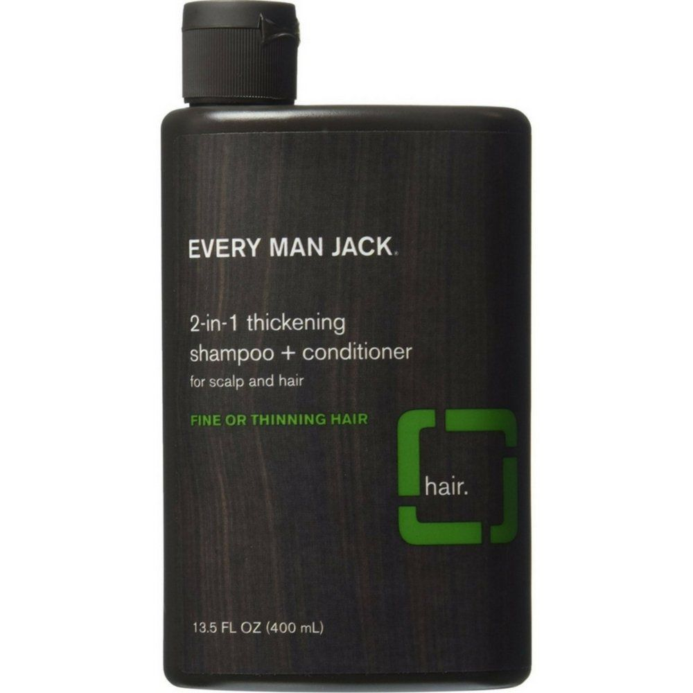 Every Man Jack Tea Tree 2-In-1 Thickening Shampoo + Conditioner