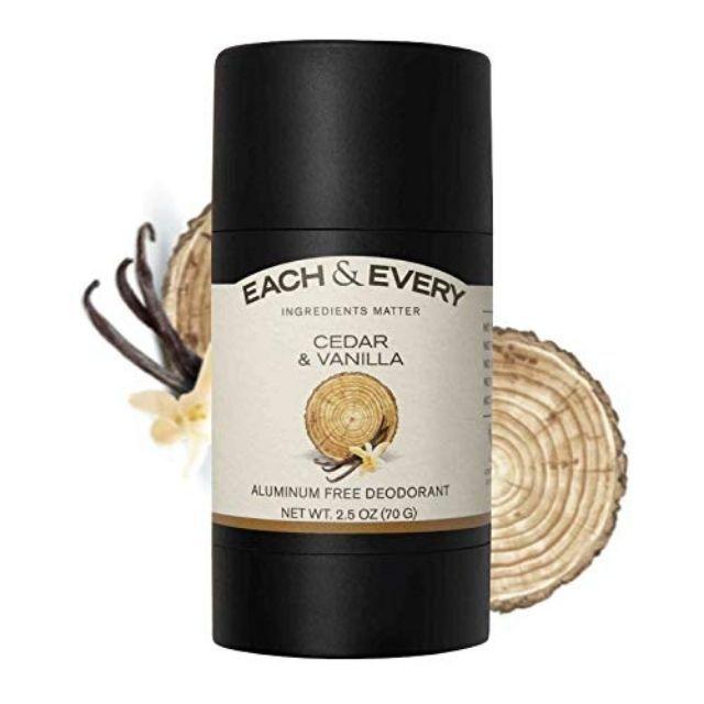 Each & Every Natural Aluminum-Free Deodorant