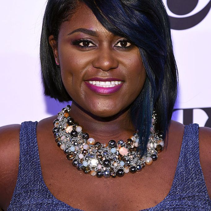 Danielle Brooks with a bob with bangs