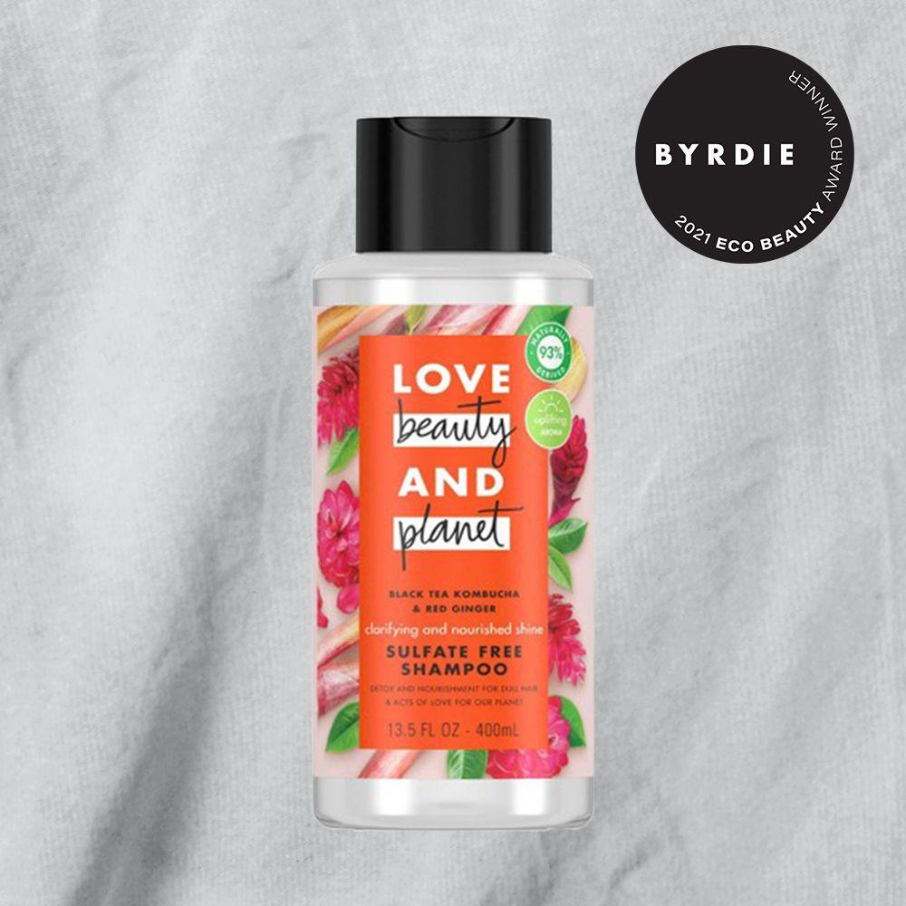Love Beauty & Planet Black Tea Kombucha & Red Ginger Shampoo