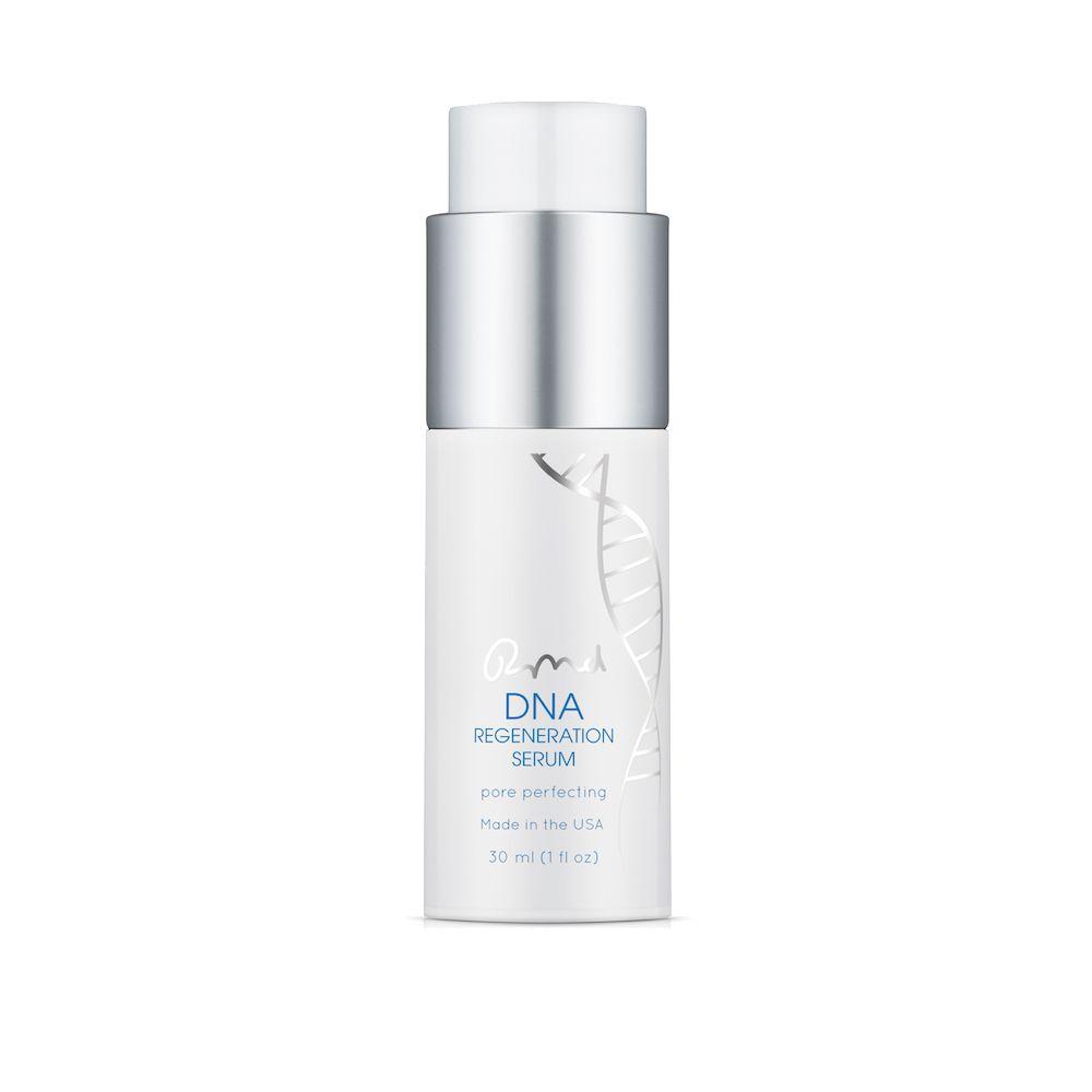 A white pump bottle of DNA Regeneration Serum.