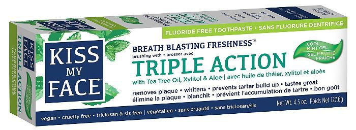 Kiss My Face Triple Action Gel Toothpaste