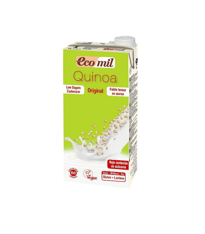 Best milk alternatives: EcoMil Quinoa milk