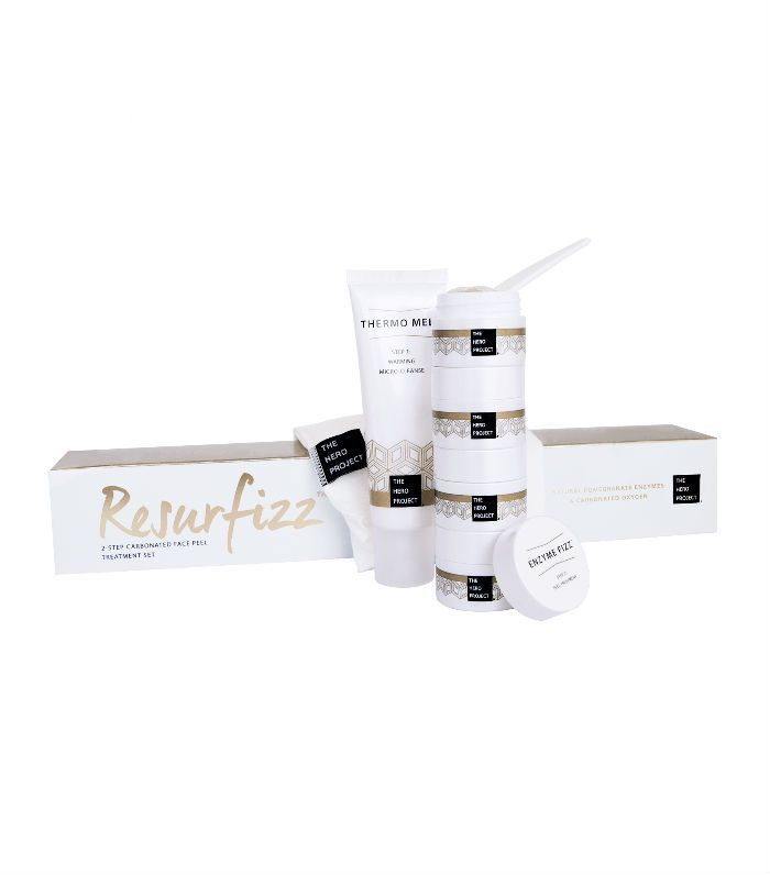 Chemical face peels: The Hero Project Resurfizz Enzyme Peel Collection
