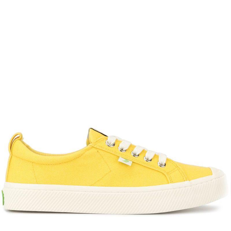 OCA Low Yellow Canvas Sneaker