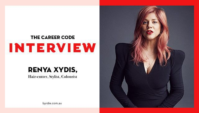 Career Code: Celebrity Hairstylist Renya Xydis Shares the