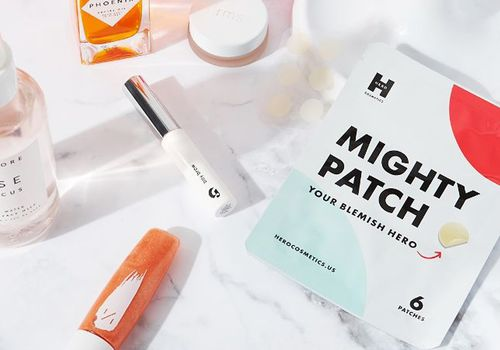 mighty patch flat lay