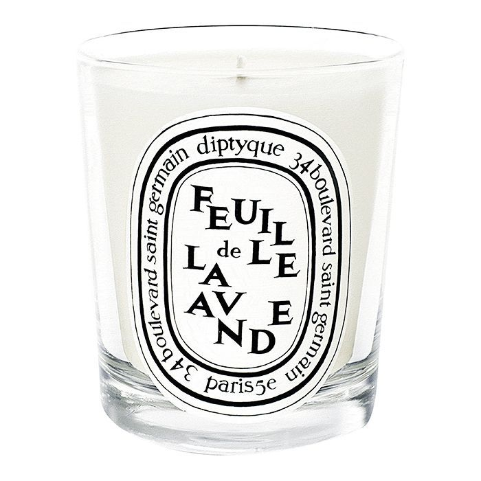 how to take a bath: Diptyque Feuille de Lavande Scented Candle