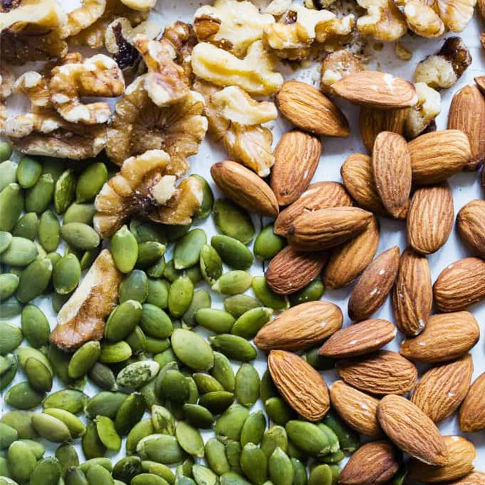 diet to get rid of belly fat: nuts