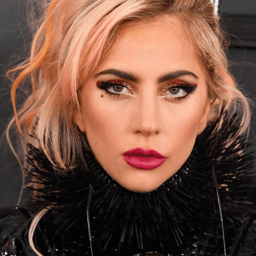 Lady Gaga Rose Gold Hair