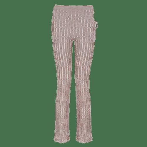 Aya Muse Emzar Knit Straight-Leg Pants