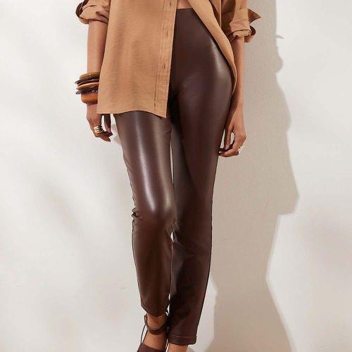 Petite High-Rise Vegan Leather Legging ($47.99)