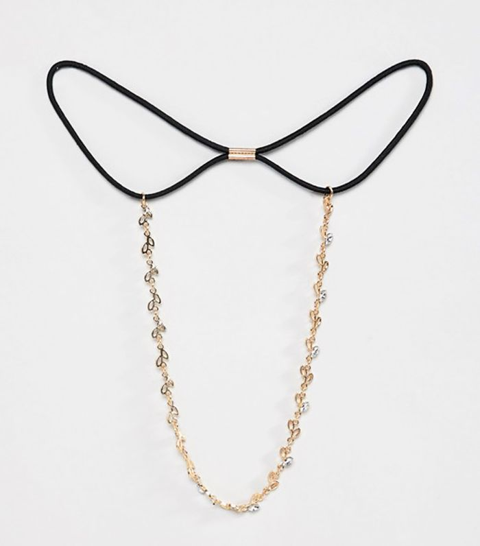 ASOS Head Chain With Mini Leaf Design