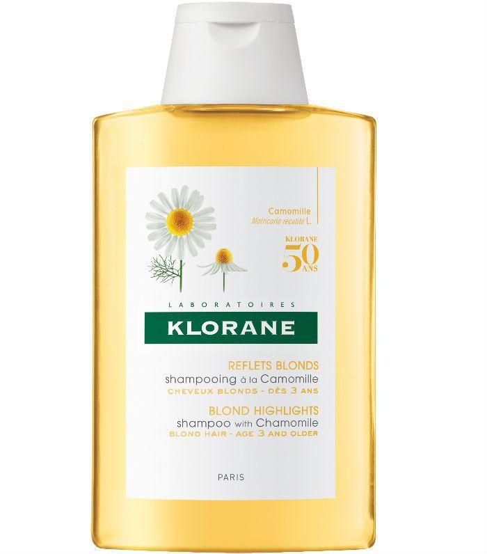 natural hair dye: Klorane