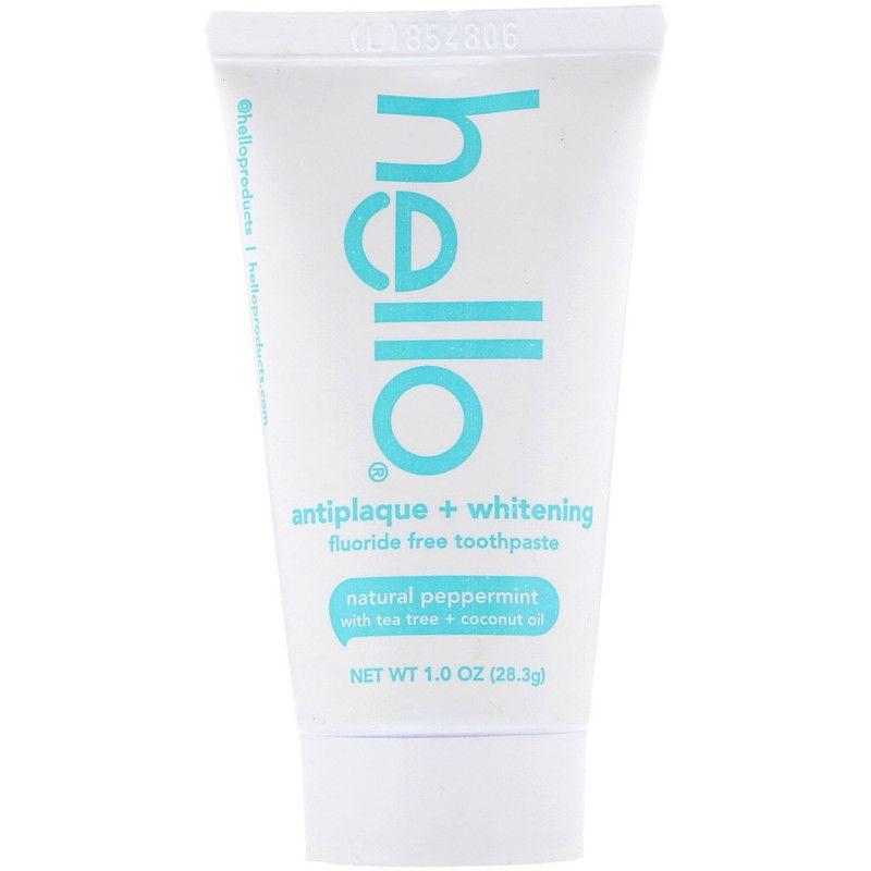 Hello Whitening Fluoride Free Toothpaste