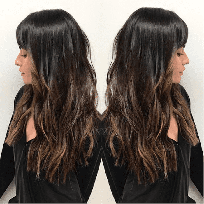 24 Stunning Examples of Dark Brunette Hair With Highlights