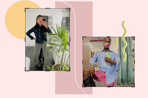 Denim Jackets + Skirts