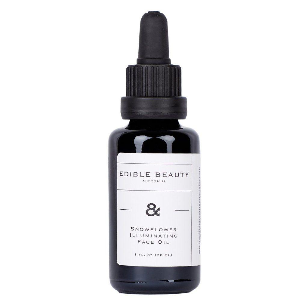 Edible Beauty Australia Snowflower Illuminating Face Oil