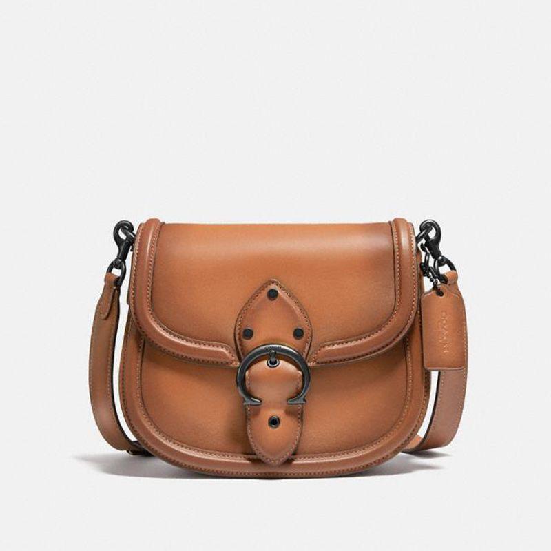 Beat Leather Saddle Bag