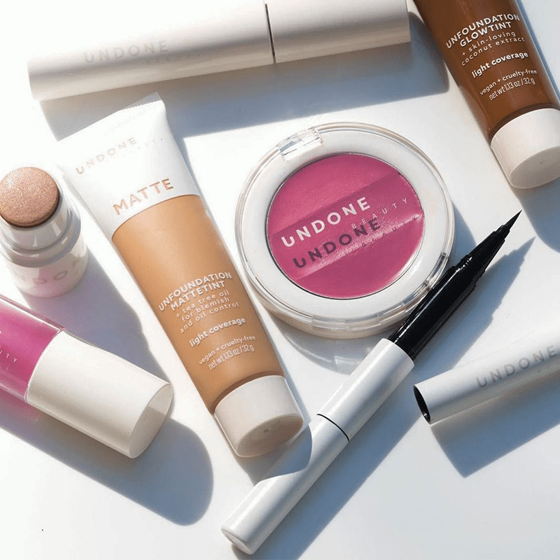 Undone beauty products