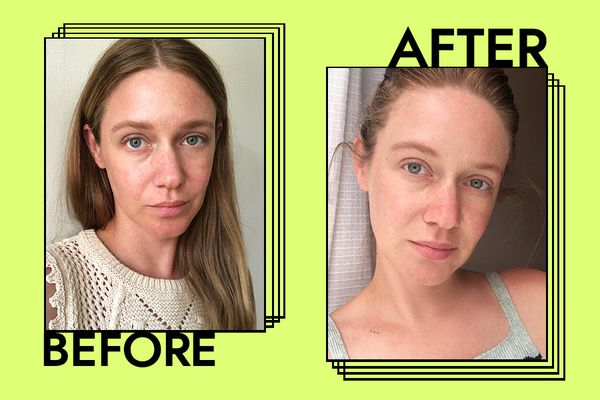 Dr. Jart+ Ceramidin Cream Results on Nicole Kliest