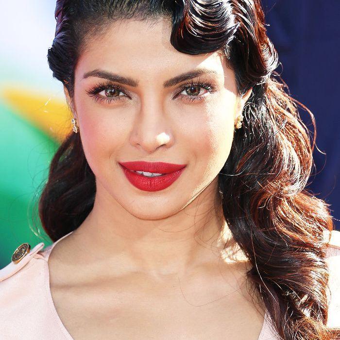 Priyanka Chopra red lips