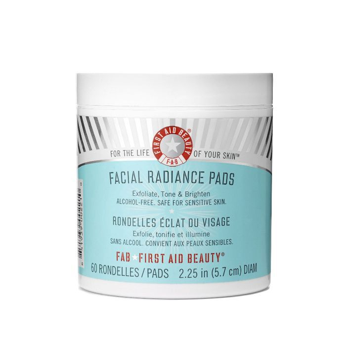 First Aid Beauty Facial Radiance Pads Home & Away