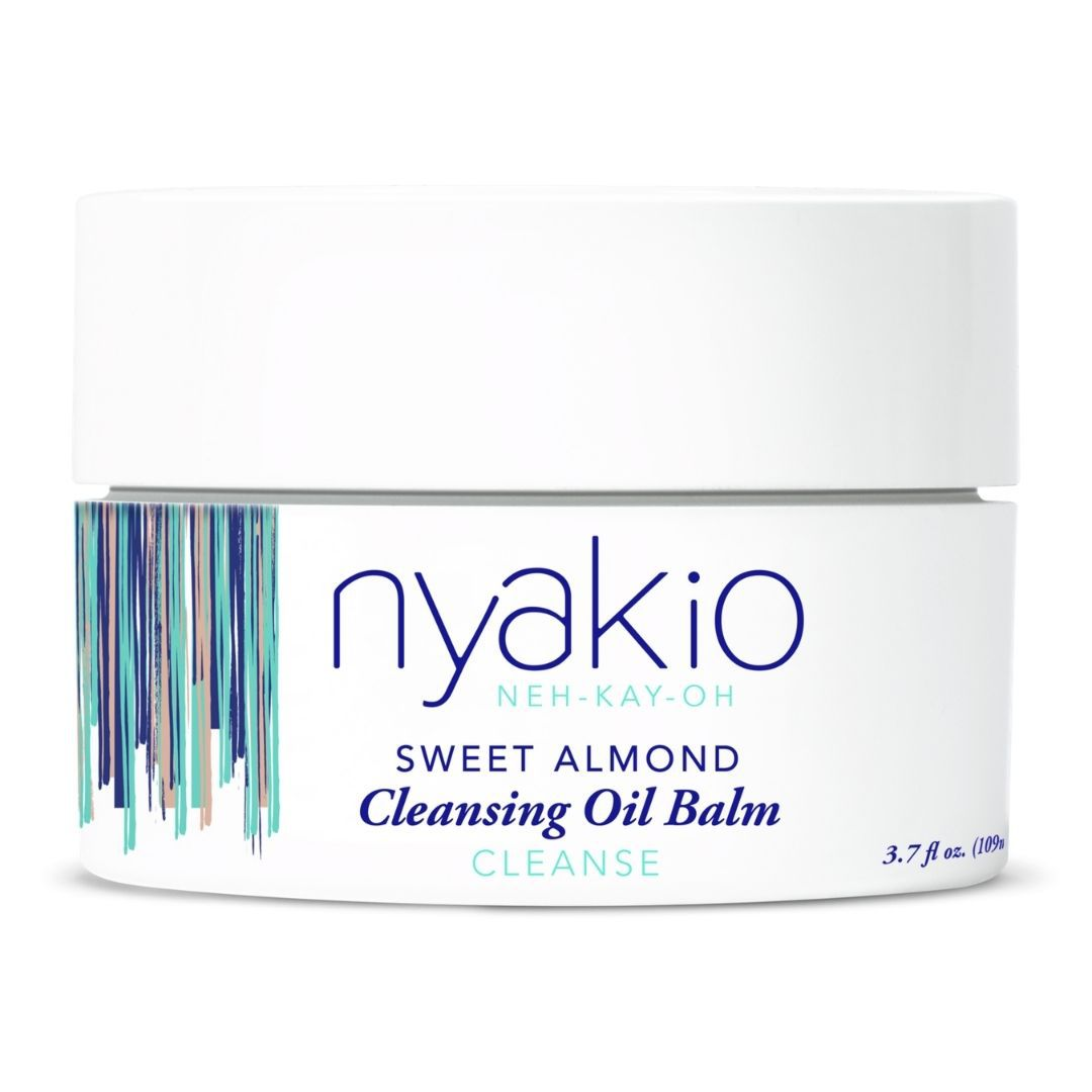 Nyakio Sweet Almond Cleansing Oil Balm