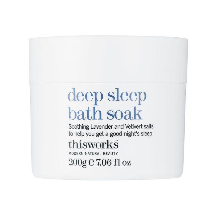 Sleep deprivation: This Works Deep Sleep Bath Soak