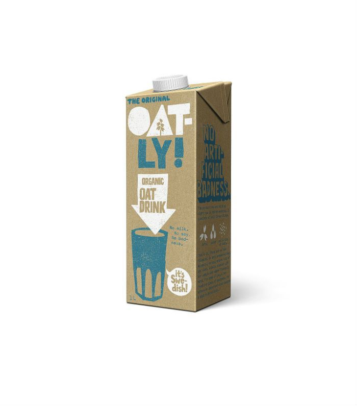 Best milk alternatives: Oat-Ly Organic Oat Drink