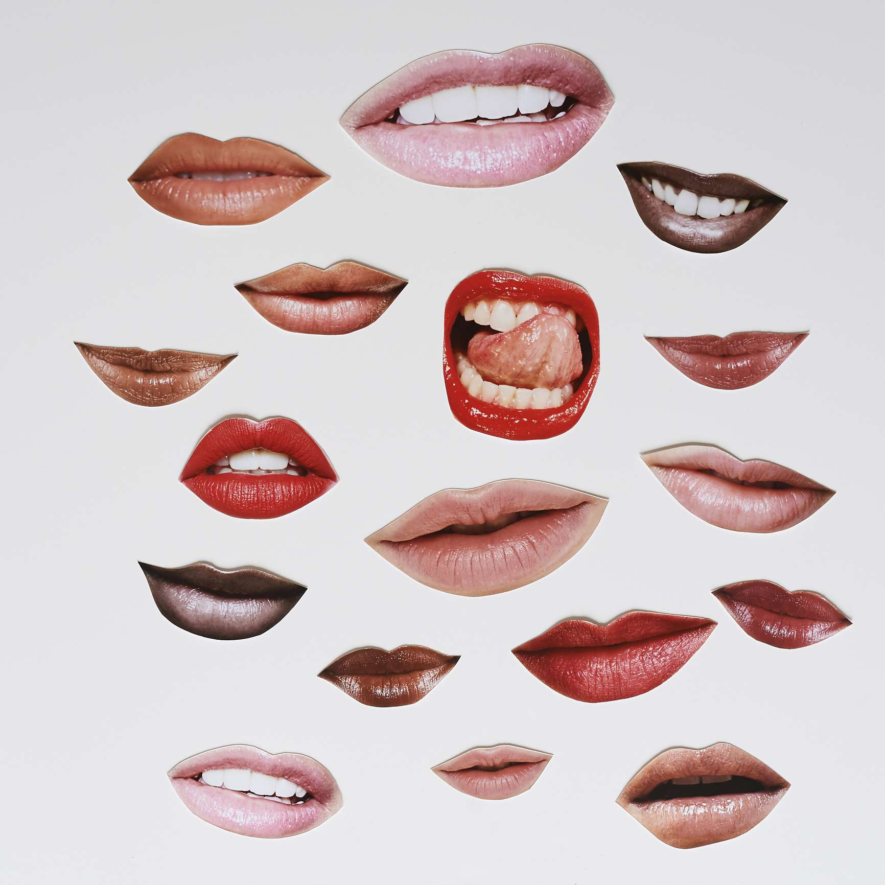 lips montage