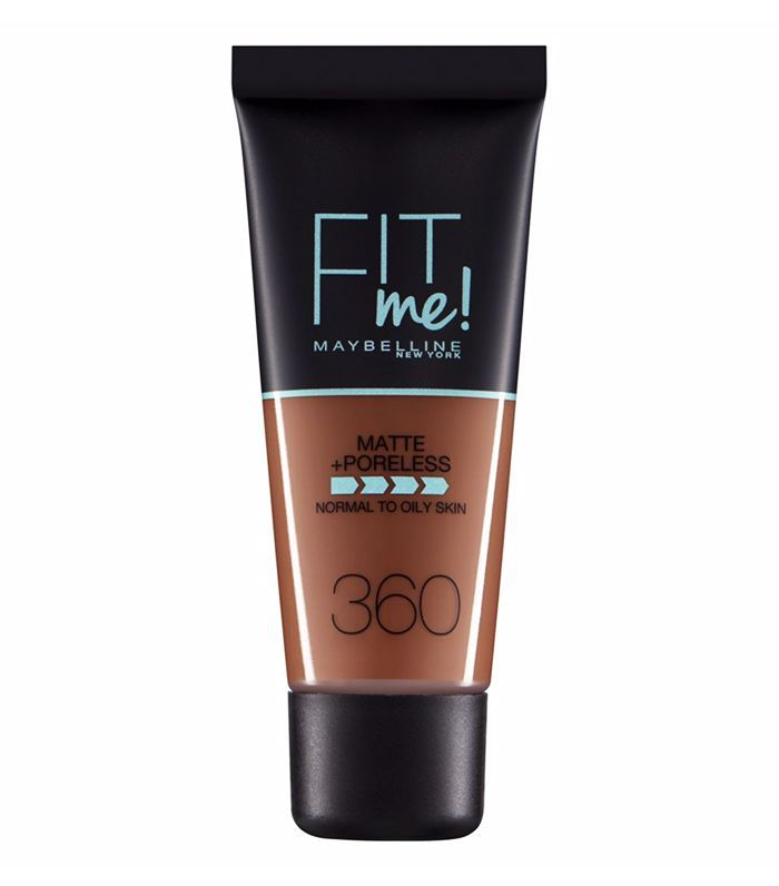 Best drugstore matte foundation: Maybelline Fit Me Matte and Poreless Foundation