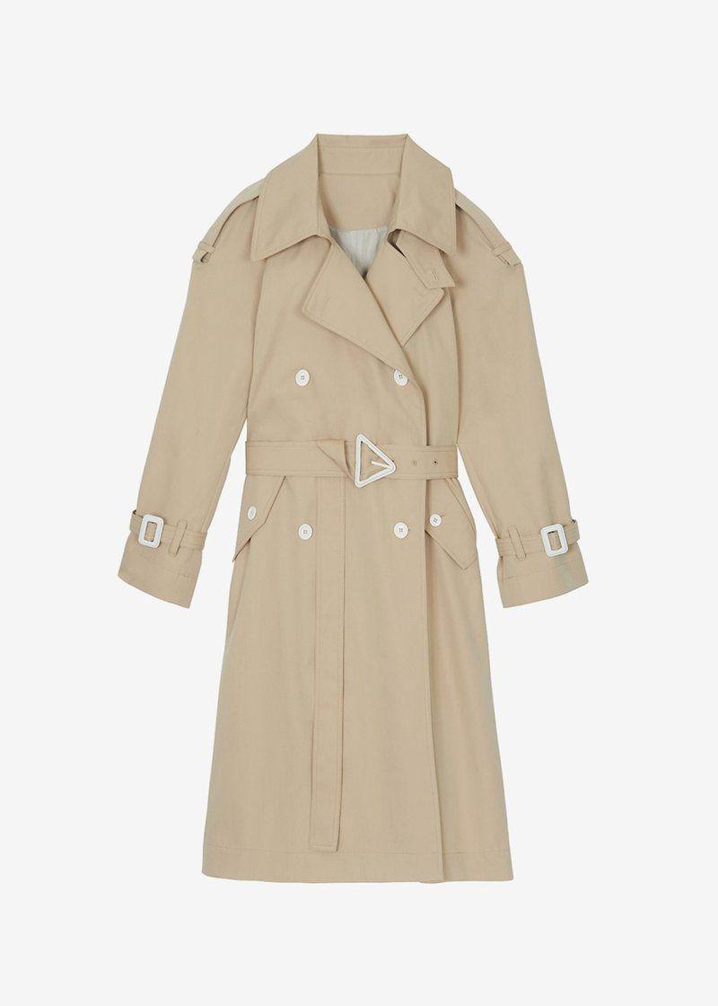 The Frankie Shop Kia Trench Coat